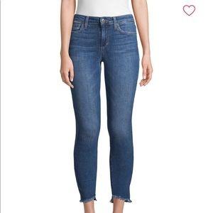 Joe's Jeans Maria Mid Rise Raw Hem Ankle Jeans 24